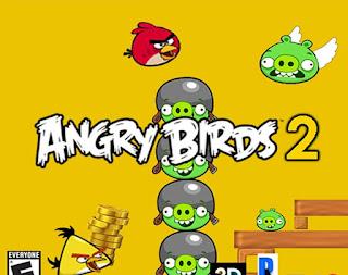 تحميل النسخة الجديدة والنهائية  من لعبة ( الطيور الغاضبة 2  Angry Birds 2 2015 )  مجانا لهواتف والتابلت الاندرويد و iosايفون ايباد ايبود