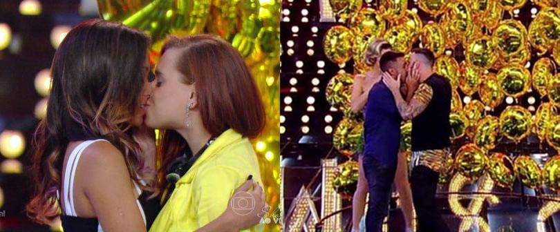 Com beijo gay, aquendação de neca e drags, 'Amor & Sexo' eleva audiência da Globo