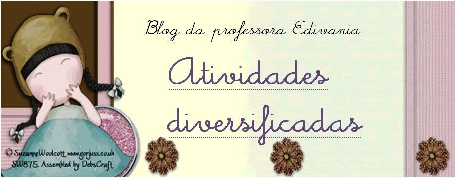 Blog da professora Edivania