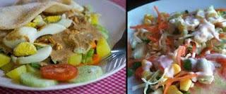 Gado-gado vs Salad