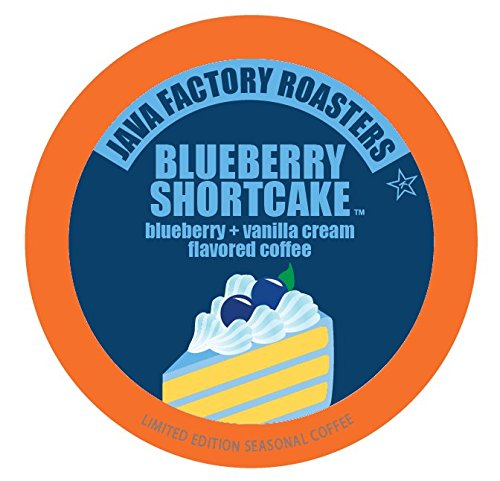 Java Factory Blueberry Shortcake Flavored Coffee