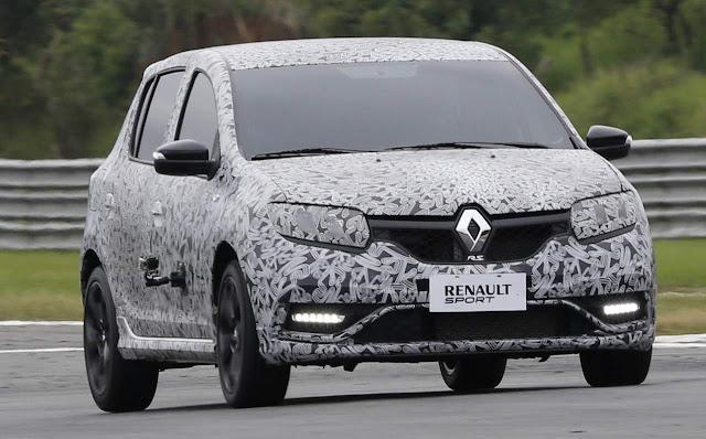 Novo Renault Sandero R.S.