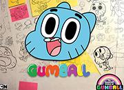 Gumball SketchBook Jigsaw