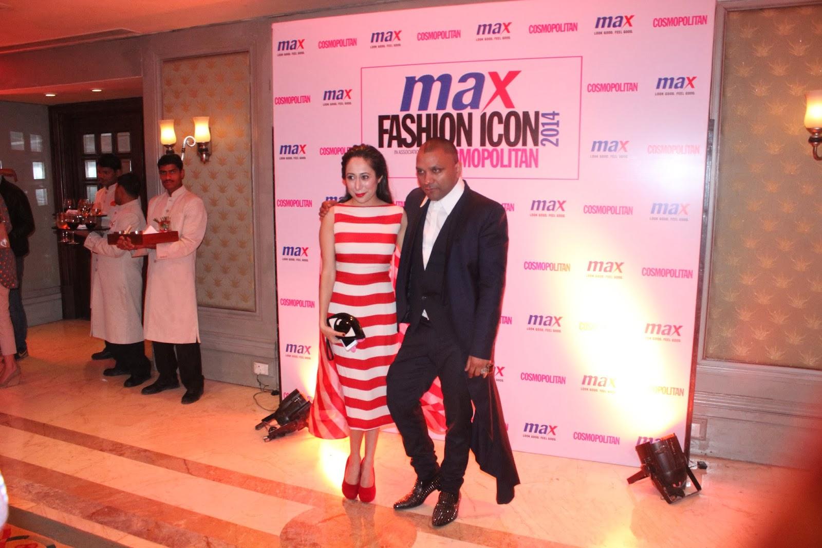 Nadini Bhalla and Gaurav Gupta - MAX Fashion Icon 2014 In Collaboration  With Cosmopolitan Magazine Grand Finale - All Pictures, Uncut Version