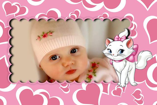Template Infantil Gatinha Marie Template Infantil So Pode Ser  Inho