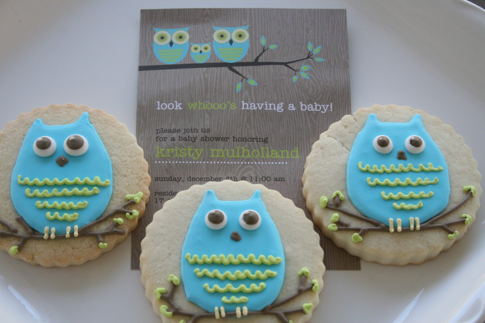 Owl Decorated Cookies Custom Cookies Cupcakes And Cake Decorated Cookies