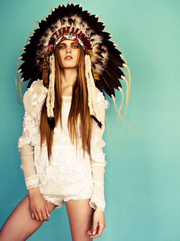 Wild Kingdom Inspiration Native American Tribal Style In The Fashion And Makeup Industries