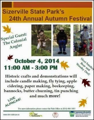 10-4 Sizerville State Park Autumn Festival