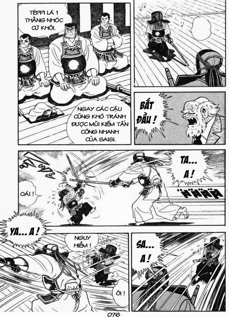 Siêu quậy Teppi chap 50 - Trang 35