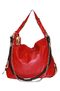 Sac O'Grande Chain Chick Handbag in Red