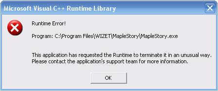 maplestory runtime