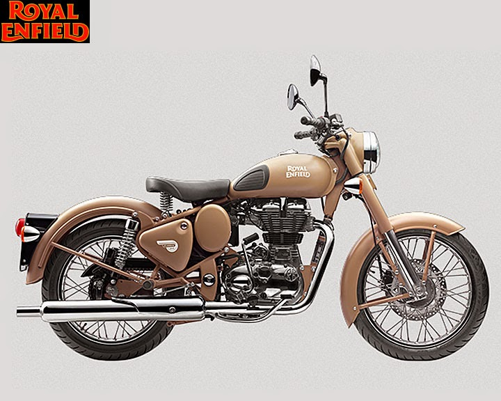 Royal Enfield Classic Desert Storm 500 Right Side