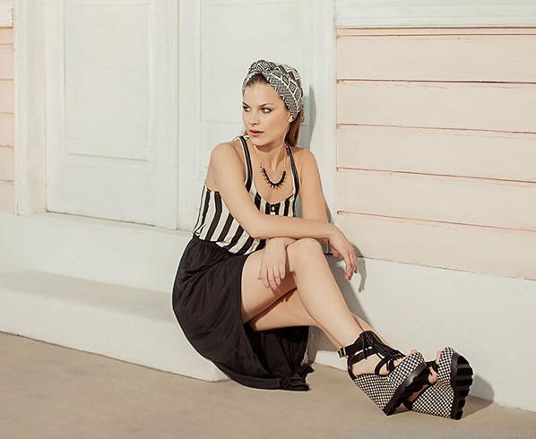 Oshum verano 2014 moda mujer sandalias.