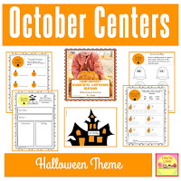 Halloween Learning Centers BUNDLE