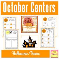 Halloween Learning Centers BUNDLE