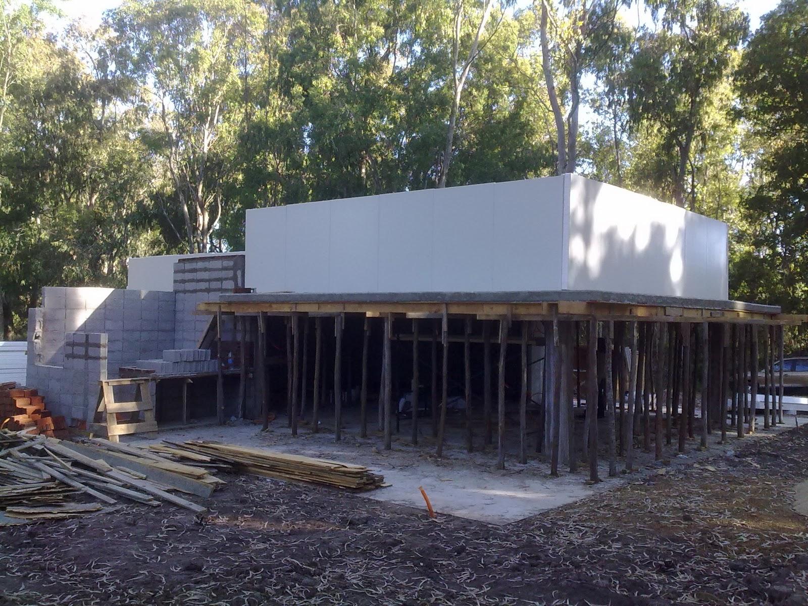 Bisas arquitectura y construcci n casa saavedra montaje for Construccion arquitectura