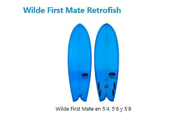 Wilde First Mate Retrofish