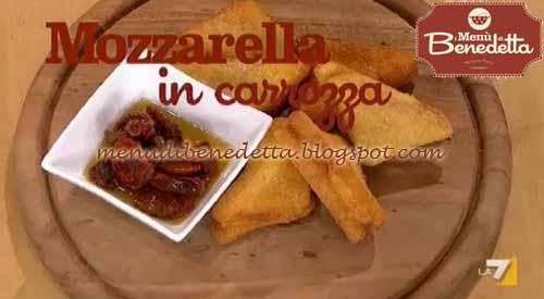 Mozzarelle in carrozza ricetta da i men di benedetta for Mozzarella in carrozza parodi