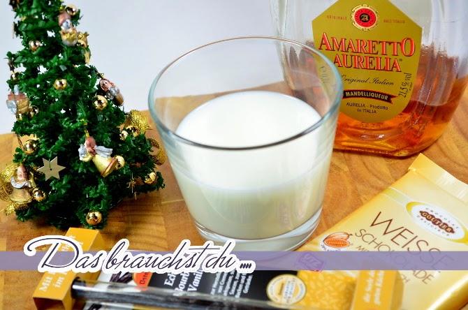 Rezept - Heiße Weiße Schokoladenmilch mit Schuss