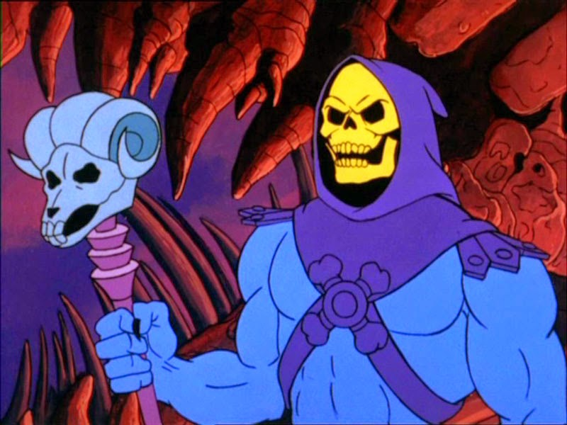 Skeletor cattivi viola