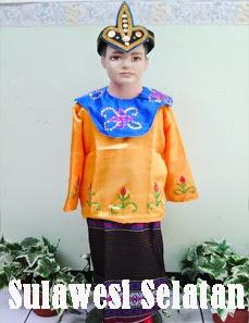 jual baju adat sulawesi selatan
