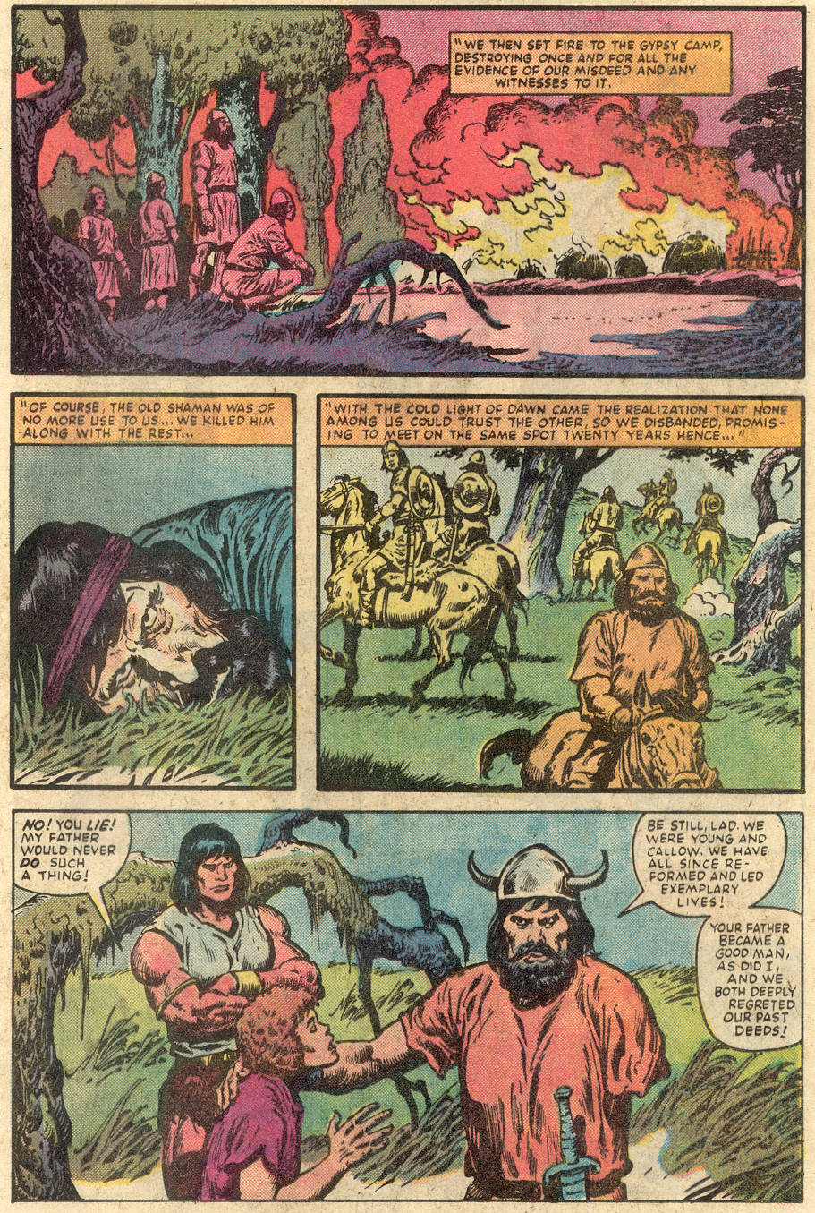 Conan the Barbarian (1970) Issue #149 #161 - English 15