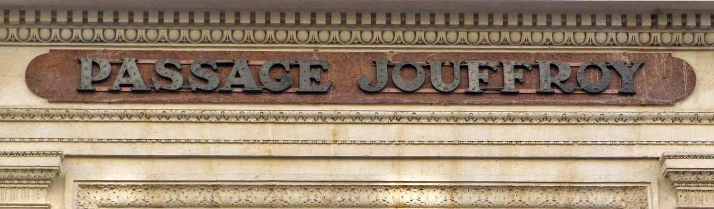 Paris trois passages couverts du 19e si cle le plus for Portent of passage 1