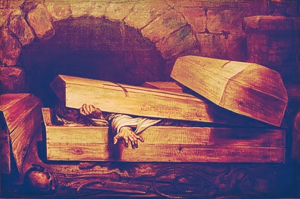 Antoine Wiertz's Impression of Man Buried Alive: Public Domain Image
