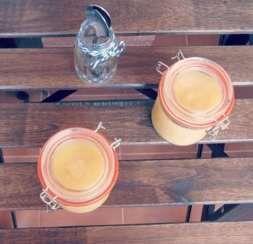 Presentación Lemon curd