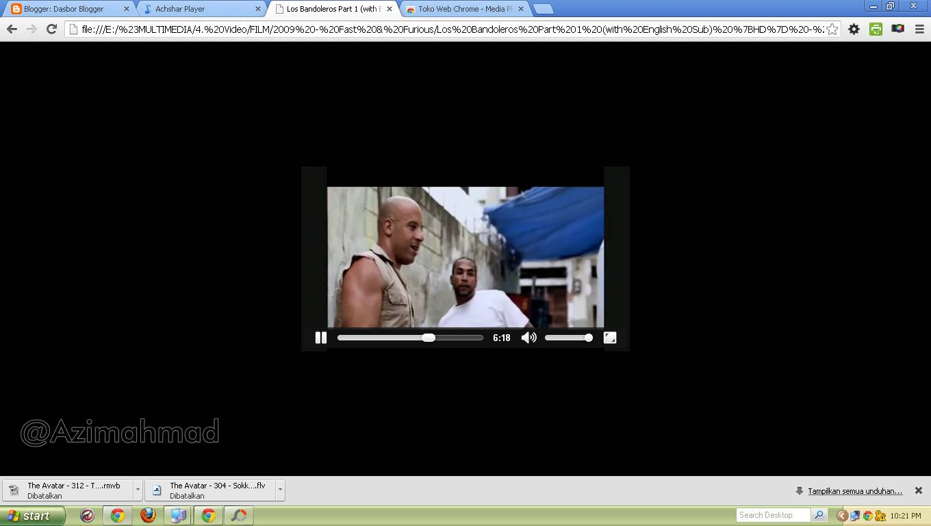 Media Player Google Chrome, Google Chrome, Multimedia Player alternatif.