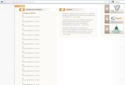 Portal NFe UF Scan