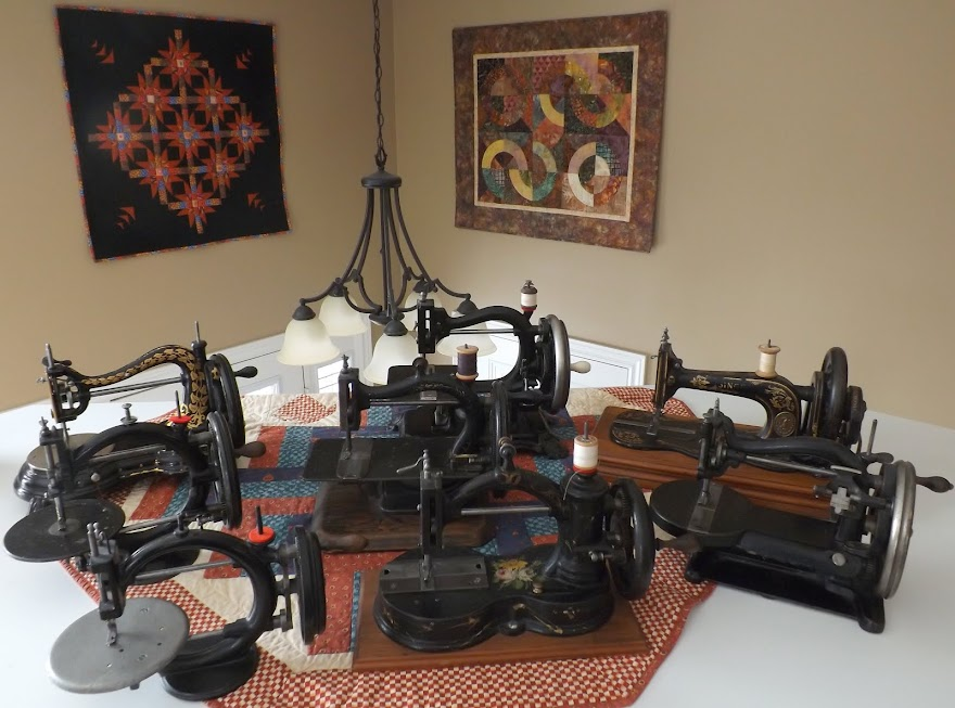 ANTIQUE and VINTAGE SEWING MACHINES WANTING a NEW HOMES!!