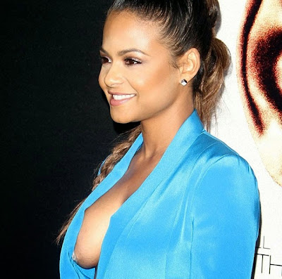 Christina Milian nipple oops hot