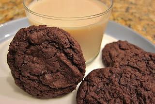 The Vegan Chronicle: Cocoa Fudge Cookies