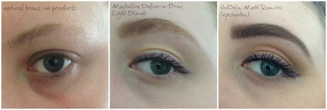 Manicurity | eyebrow comparison collage