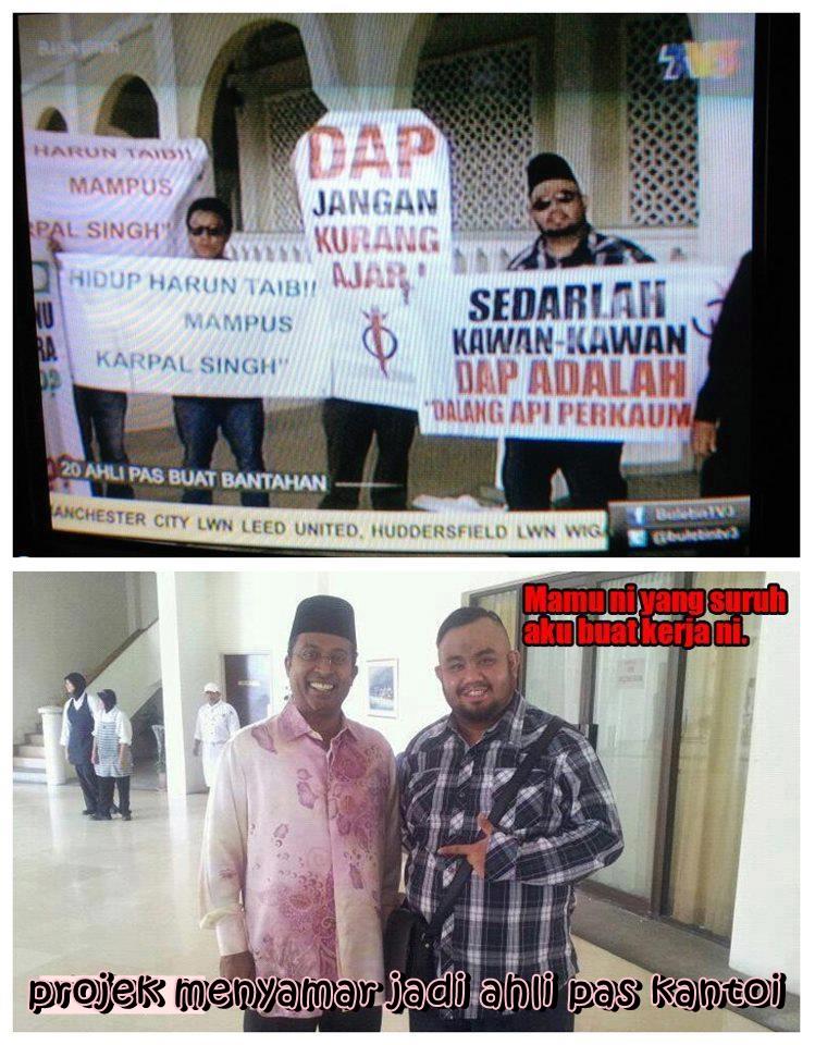 TerbongkarrRRRakhirnya perangai jelik Umno.
