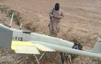 estado islâmico drones