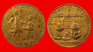 monedas batalla cartagena de indias