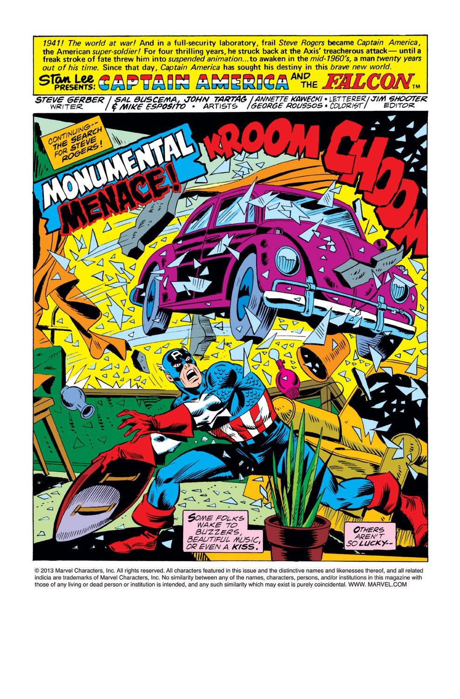 Captain America (1968) Issue #222 #136 - English 2