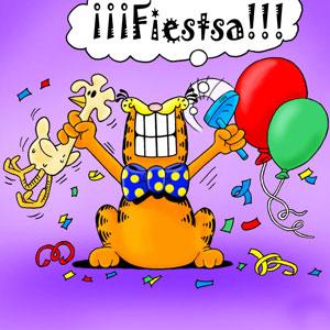 Garfield cumpleaños