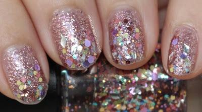 Modi Art Nails set no. 1 - Glitter Layered Collection: jewelry box