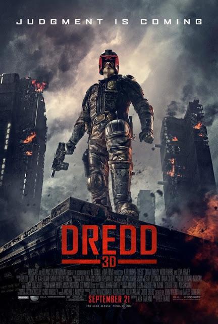 dredd 3d, movie poster