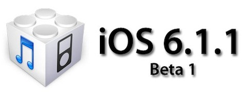 Apple iOS 6.1.1 Beta 1 Firmwares