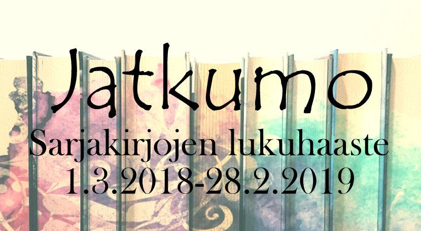 Jatkumo - Sarjakirjojen lukuhaaste (1.3.2018-28.2.2019)