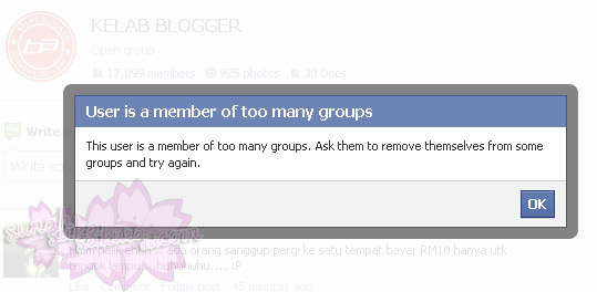 Jangan Masuk Banyak Sangat Group di Facebook!