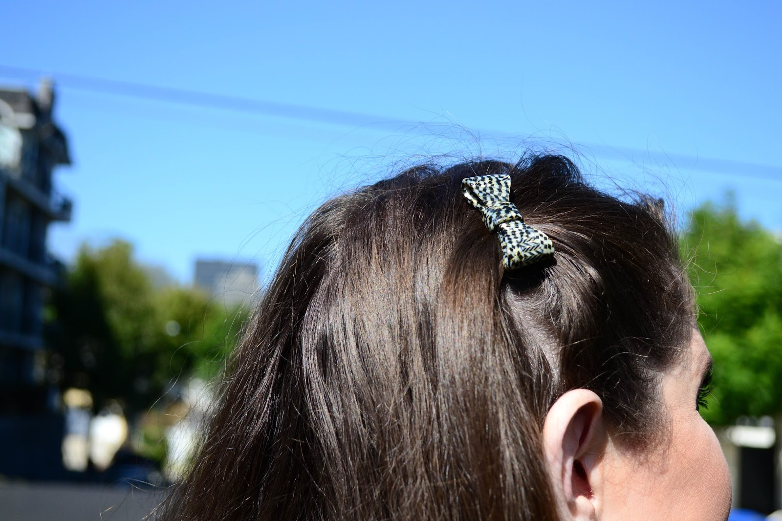 France Luxe Hair Barrette