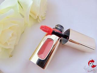 L'Oreal Lipglos - Rose Melody - www.annitschkasblog.de
