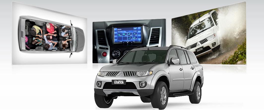 principal mudança na linha 2012 do Mitsubishi Pajero Dakar é o