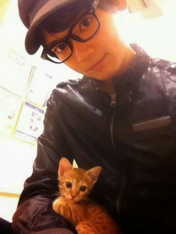 Yuki furukawa dan kucingnya