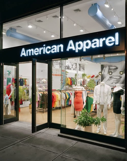 american apparell retail